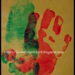 Unique Handprint and Footprint Thank You Card