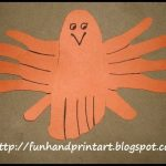 Adorable Hand & Foot Print Bird