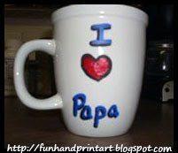handmade keepsake mug