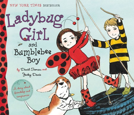 Ladybug Girl and Bumblebee Boy, book for kids