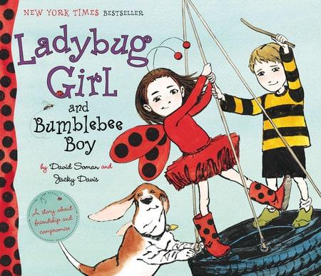 Ladybug Girl and Bumblebee Boy, book for kids