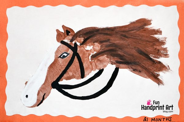Farm Animal Crafts Made With Handprints 8 Books