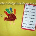November Handprint Turkey