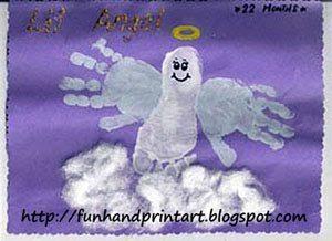 Hand & Foot Angel Craft