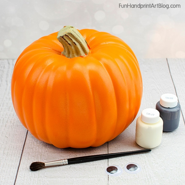 Craft Pumpkin & Paint