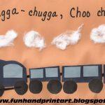 Handprint Train  Craft