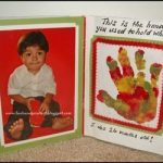 Handprint with Poem Picture Frame