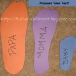 Measure Your Feet Day Crafts