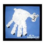 Handprint Polar Bear