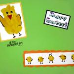 Handprint Chick & Baby Thumbprint Chicks