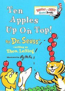 Ten Apples Up on Top Dr Seuss Book