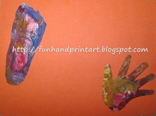 Hand, Foot, & Poem Keepsake