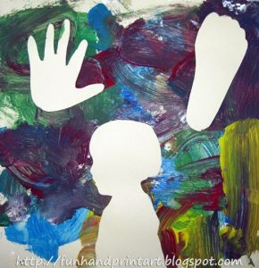 Silhouette Painting Activity & Craft for Kids