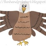 Hand & Footprint Eagle Craft {4th of July}