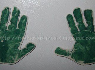 Handprint Magnets Craft