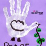 Handprint Dove – Peace Day Craft