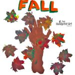Fall Handprint Tree Craft