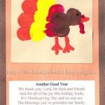 Thumbprint Turkey Prayer Cards