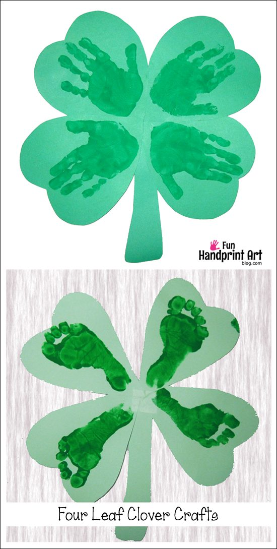 Crafts Using Handprints And Footprints