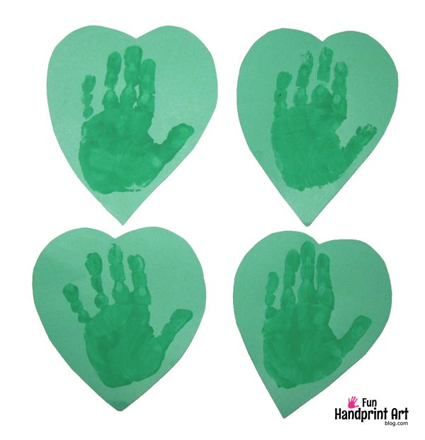 Handprint Clover St Patrick's Day Craft for Kids