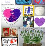 Handprint & Footprint Mother's Day Craft Ideas ~ Part 1