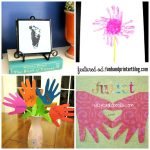 Creative Handprint Crafts for Mother's Day