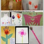 Handprint Crafts for Mother's Day {Part 2}