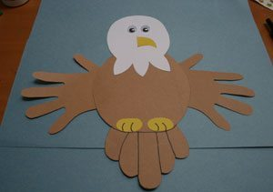 Bald Eagle Craft for 4th of July