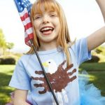 4th of July Handprint & Footprint Crafts