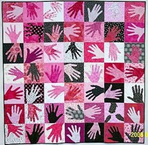 Hands of Love Quilt - Martha Stewart