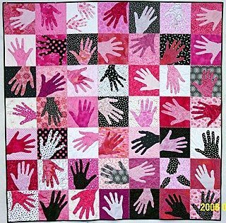 Hands of Love Quilt - Martha Stewart