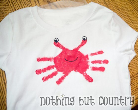 The 2nd one is one I havenu0027t seen before a Paper Plate Handprint Hermit Crab from Meganmgu0027s flicker photostream. I love it! who knew a crab could be so ... & Super Cute Handprint Crabs Round Up - Fun Handprint Art