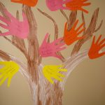 Jumbo Handprint Fall Tree Craft