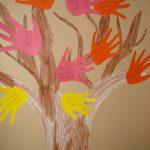 Jumbo Handprint Fall Tree Craft