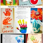 Grandparent's Day Handprint Round Up