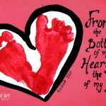 From the Bottom of my Heart to the Tips of my Toes….. Card
