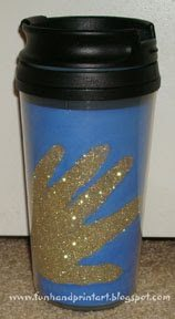Travel Mug Craft Idea to make as a gift