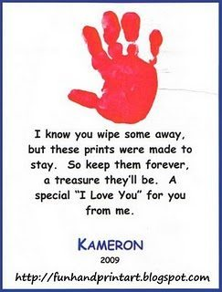 Handprint Quotes For Christmas. QuotesGram