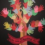 Thankful Handprint Thanksgiving Tree