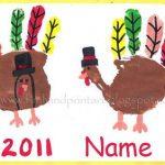 Pilgrim Handprint Turkey