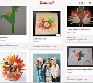 Thanksgiving Board on Pinterest- be back blogging next week!