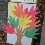 Handprint Tree of Thanks