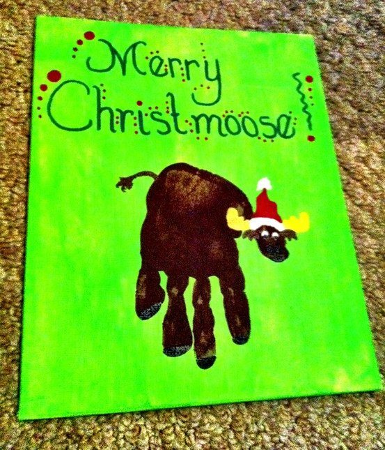 My top 10 favorite christmas crafts made with hands feet for Hand and foot crafts