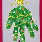 Adorable Handprint Christmas Tree