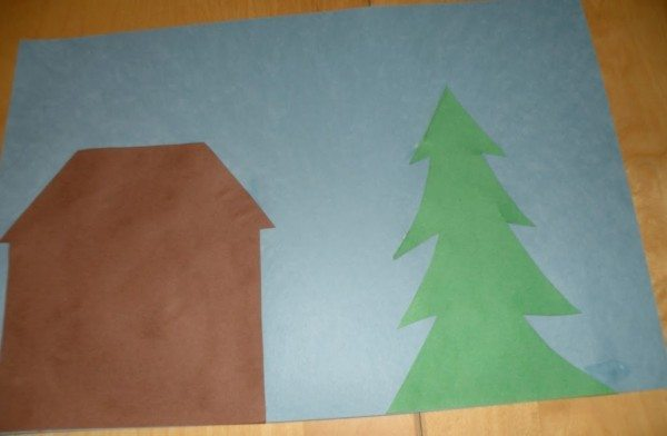 Gingerbread House Paper Craft for Kids