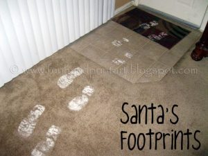 How to make Santa's Snowy Footprints - The Magic of Christmas