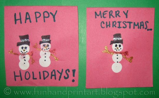 thumbprint-Snowman-Christmas-Card