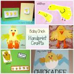 20 Egg-citing Easter Crafts made with handprints, footprints, & fingerprints