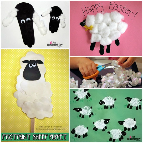 Cute Easter Animal Craft Ideas Baby Chicks Bunnies And Sheep