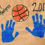 Handprint Basketball – March Madness Craft
